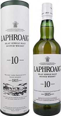 Laphroaig 10 Years Whisky at Amazon for £26.50