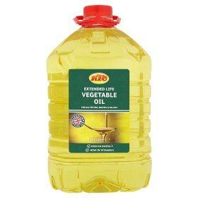 KTC Vegetable / Sunflower Oil 5l £3.50 instore and online @ ASDA