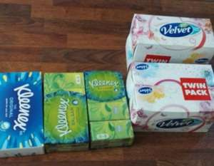 kleenex tissue 50p at asda