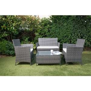 Sorrento rattan sofa sets reduced to £69.99 at B&M Stafford