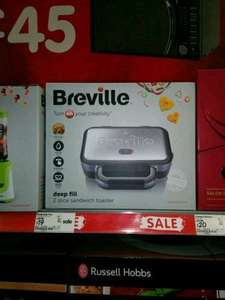 Breville deep fill sandwich toaster @ ASDA for £19