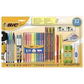 Bic 32 piece stationary set £9 @ Tesco direct