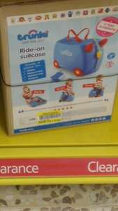 trunki ride on suitcase in-store at tesco £17.50 Dunstable