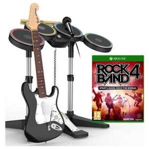 Rockband 4 Band in a box £49.99 Argos Xbox One + PS4