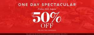 Upto 50% Off Sale TODAY Only @ Denby (PLUS exchange £10 of Tesco Clubcard Points for £20 to Spend @ Denby)