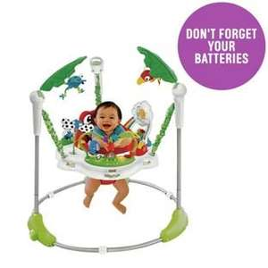 Fisher-Price Rainforest Jumperoo Baby Bouncer was £119.99 now £69.99 + Free £5 Gift Voucher C+C @ Argos (not Rip Roaring or Spacesaver version)