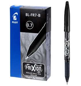 Pilot Frixion Erasable Rollerball Pen, 0.7 mm Tip - Black, Box of 12 £14.14 prime / £18.13 non prime @ Amazon