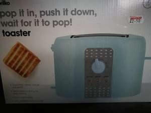 Toaster £2.50 in store @ Wilko - Loughborough