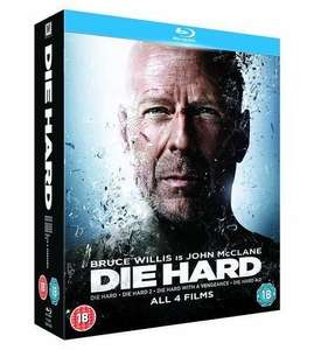 Die Hard Quadrilogy - Region Free Blu-ray £10.00 eBay (foxdirect_uk)