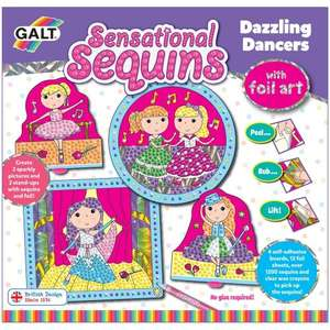 GALT SENSATIONAL SEQUINS..DAZZLING DANCERS £3 @ Sainsbury's in store Cannock