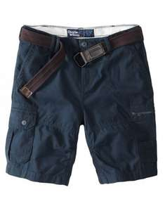 Charles Wilson Zip cargo shorts & belt set = Usually £24.95 now  £10 - £14.95 (incl delivery) with code.