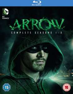 Arrow: Seasons 1-3 Blu-Ray £24.99 [DVD £19.99] @ HMV Store