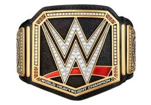 WWE sale on title belts £308
