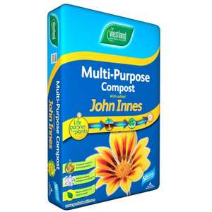 ** Multi Purpose Compost with John Innes 50L now £2.99 @ Wickes (Free C&C) **