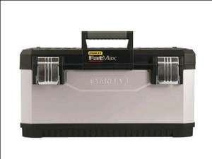 Stanley Fatmax 195617 Metal Plastic Toolbox 26-inch £24 @ B&Q for £24