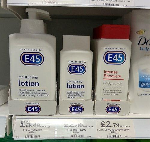 E45 Moisturising Body Lotion Pump (500ml) £3.49 homebargains  [instore]