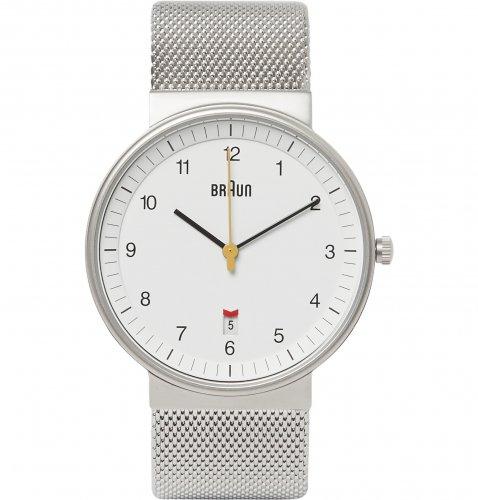 Braun Men's Steel Mesh Analogue Watch £55.44 Amazon UK