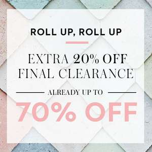 20% off clearance sale already up to 70% off @ Boden
