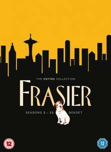 Frasier: The Complete Seasons 1-11 (Box Set) [DVD] £18.98 including free delivery using code SIGNUP10 @ zoom.co.uk