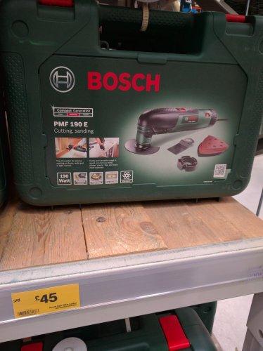 BOSCH PMF190E Multi Cutter £45 at B&Q