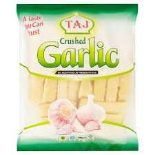 Taj Frozen Crushed Spices - Crushed Garlic /Crushed Ginger /Ginger & Garlic Mixed /Crushed Green Chillies - (400G) 50p @ morrisons
