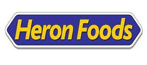 low fat lamb/beef/chicken sausages 320g for £0.59 or 2 for £1 at herons