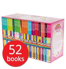 A Year of Rainbow Magic Boxed Collection - 52 Books Box Set + Make Your Own Teddy or Bunny £26.98 Del with code @ The Book People