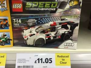 Lego speed champions Audi R18 - £11.05 instore @ Tesco