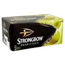 Strongbow pear 10 440ml cans - £3.99 @ Home Bargains