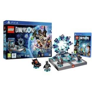 LEGO DIMENSIONS STARTER PACK PLUS 2 FREE FUN PACKS - £49.99 @ Argos
