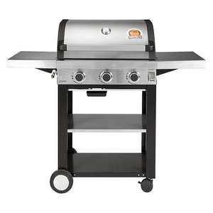 John Lewis 3 Burner Gas BBQ reduced to £124.50 Delivered with 10 year warranty.