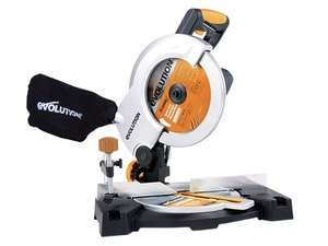 Evolution Rage3-B Multipurpose Mitre Saw 210 mm - 110 V - £39.99 @ amazon