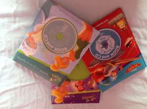 Disney books and CD £1 at Poundworld (INSTORE)