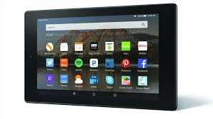 Amazon Fire HD 10 tablet, Silver,with voucher. £125.00 at Tesco Direct.