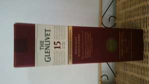 Glenlivet 15 yo French Oak whisky £24 - in store Morrisons Scunthorpe