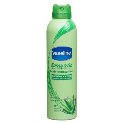 b&m- £1 for Vaseline Spray & Go 190ml [Essential Moisture/Aloe Fresh]  in-store only