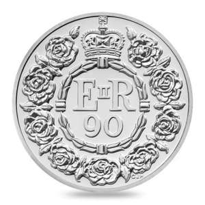 Queens 90th Birthday £20 Fine Silver Coin for £20 Free Delivery