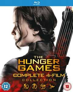 The Hunger Games - Complete Collection - BluRay at Amazon - £19.99 (Prime or plus £1.99)