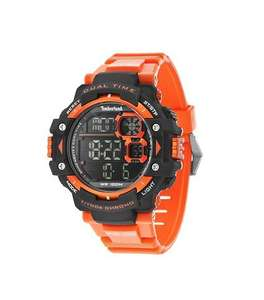 Timberland Men's Tuxbury Digital Watch with LCD Dial Display and Orange Silicone Strap 14260JPBO/02 £24.02 @ Amazon