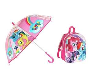 My Little Pony 3D Backpack and Umbrella. - £7.49 @ Argos