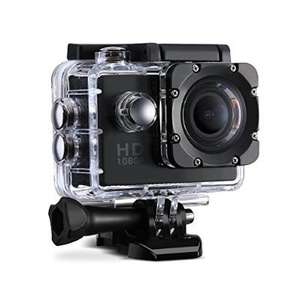 Topop 1080P 12MP Action Camera + accessories £35 @ Sold by GoldenSwing fulfilled by Amazon (FBA)