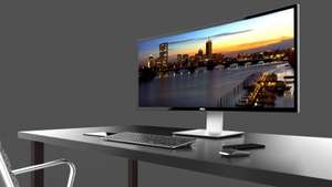 Dell U3415W 34-Inch IPS Curved Monitor (2M:1, 300 cd/m2, 3440 x 1440, 8ms, HDMI/MHL/Mini DP/DP/USB) - £549.00 @ NRG:IT