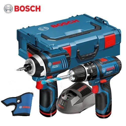 Bosch GSB10.8V & GDR10.8V drill & impact driver set incl LBOXX & 2x 2.0ah batteries - £133.99 incl delivery @ CNS Powertools