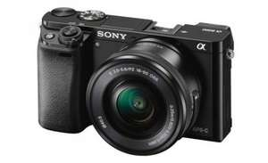 Sony A6000 Compact System Camera with 16-50 mm f/3.5-5.6 OSS Zoom Lens + Extended Warranty @ Camera World for £439