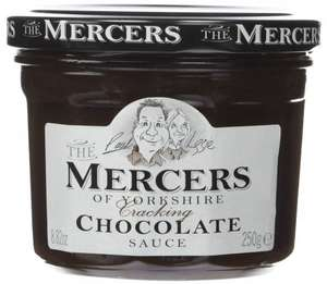 Amazon S&S Mercers Chocolate Sauce 250 g (Pack of 3) £2.61 free delivery