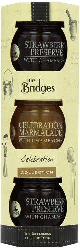 "Amazon S&S Mrs Bridges 3 Mini Celebration Pack (Pack of 4) Total 12 x 42g jars of ""celebration"" jams £3.11 free delivery"