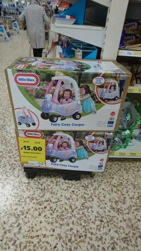 princess little tikes cozy coupe £15 Tesco instore