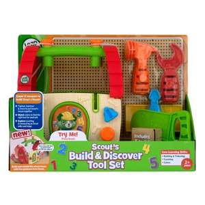 LeapFrog Scouts Build & Discover Toolbox £5.40 @ Boots - free Click & Collect