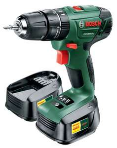 Bosch 18V LI-ION Cordless Combi Drill PSB 1800 With 2 Batteries - £63.78 (or less) @ Wickes