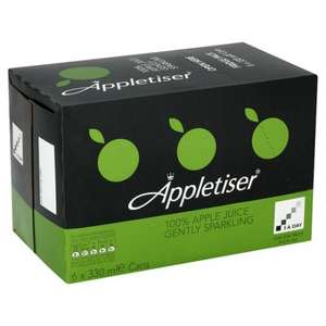 6x330ml cans of Appletiser £3 @ ASDA now & Tesco starting 31st August
